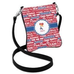 Cheerleader Cross Body Bag - 2 Sizes (Personalized)