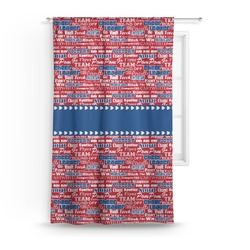 Cheerleader Curtain (Personalized)
