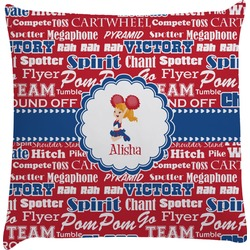 Cheerleader Decorative Pillow Case (Personalized)