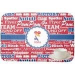 Cheerleader Dish Drying Mat (Personalized)