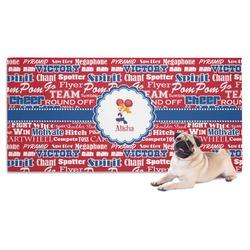 Cheerleader Pet Towel (Personalized)
