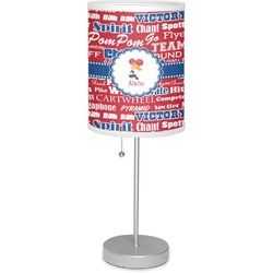 "Cheerleader 7"" Drum Lamp with Shade (Personalized)"