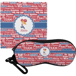 Cheerleader Eyeglass Case & Cloth (Personalized)