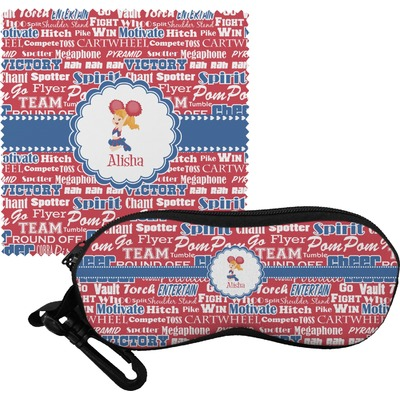 Cheerleader Eyeglass Case & Cloth (Personalized)
