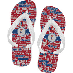 Cheerleader Flip Flops (Personalized)