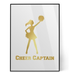 Cheerleader Foil Print (Personalized)