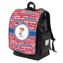 Cheerleader Backpack w/ Front Flap  (Personalized)
