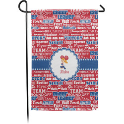 Cheerleader Garden Flag - Single or Double Sided (Personalized)