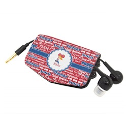 Cheerleader Genuine Leather Cord Wrap (Personalized)