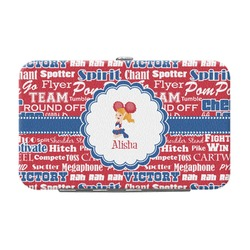 Cheerleader Genuine Leather Small Framed Wallet (Personalized)