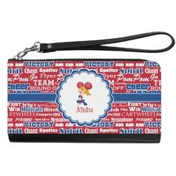 Cheerleader Genuine Leather Smartphone Wrist Wallet (Personalized)