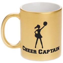 Cheerleader Gold Mug