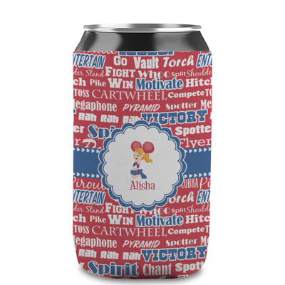 Cheerleader Can Sleeve (12 oz) (Personalized)