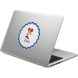 Cheerleader Laptop Decal (Personalized)