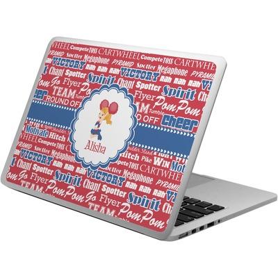 Cheerleader Laptop Skin - Custom Sized (Personalized)