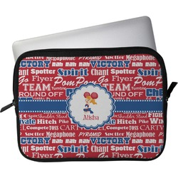 "Cheerleader Laptop Sleeve / Case - 13"" (Personalized)"