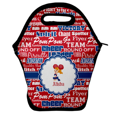 Cheerleader Lunch Bag w/ Name or Text