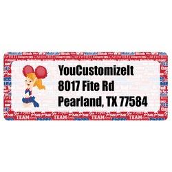 Cheerleader Return Address Labels (Personalized)