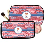 Cheerleader Makeup / Cosmetic Bag (Personalized)