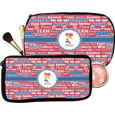 Cheerleader Makeup / Cosmetic Bag (Personalized)