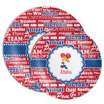 Cheerleader Melamine Plate (Personalized)