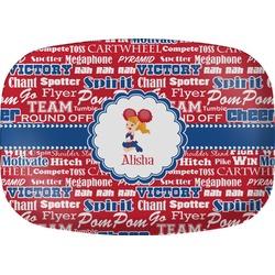 Cheerleader Melamine Platter (Personalized)