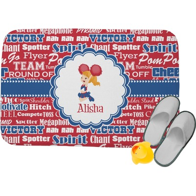 Cheerleader Memory Foam Bath Mat (Personalized)