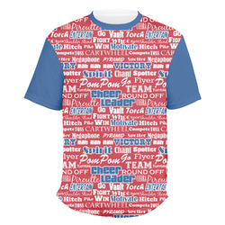 Cheerleader Men's Crew T-Shirt (Personalized)