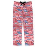 Cheerleader Mens Pajama Pants (Personalized)