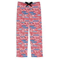 Cheerleader Mens Pajama Pants (Personalized)