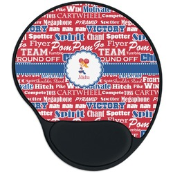 Cheerleader Mouse Pad with Wrist Support