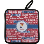 Cheerleader Pot Holder (Personalized)