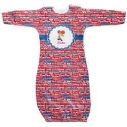 Cheerleader Newborn Gown (Personalized)