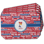 Cheerleader Dining Table Mat - Octagon w/ Name or Text