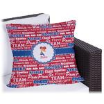 Cheerleader Outdoor Pillow (Personalized)