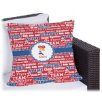 Cheerleader Outdoor Pillow (Personalized)
