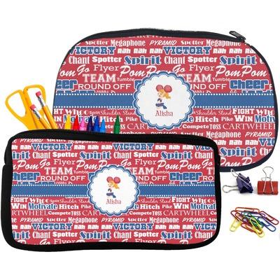 Cheerleader Pencil / School Supplies Bag (Personalized)