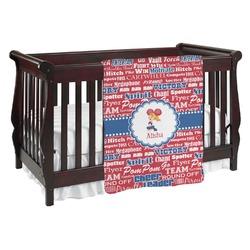 Cheerleader Baby Blanket (Personalized)