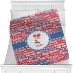 Cheerleader Minky Blanket (Personalized)