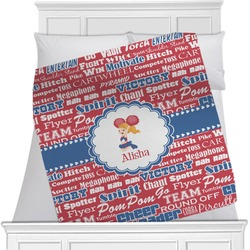 Cheerleader Minky Blanket (Personalized)