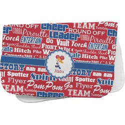 Cheerleader Burp Cloth (Personalized)