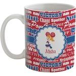 Cheerleader Coffee Mug (Personalized)