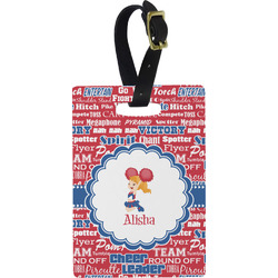 Cheerleader Rectangular Luggage Tag (Personalized)