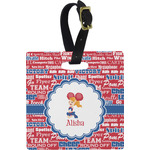 Cheerleader Luggage Tags (Personalized)