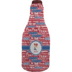 Cheerleader Wine Sleeve (Personalized)