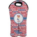 Cheerleader Wine Tote Bag (2 Bottles) (Personalized)