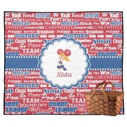 Cheerleader Outdoor Picnic Blanket (Personalized)