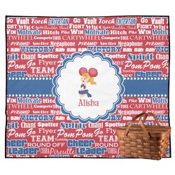 Cheerleader Outdoor Picnic Blanket (Personalized)