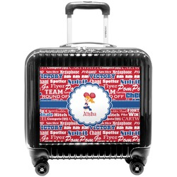 Cheerleader Pilot / Flight Suitcase (Personalized)