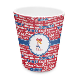 Cheerleader Plastic Tumbler 6oz (Personalized)